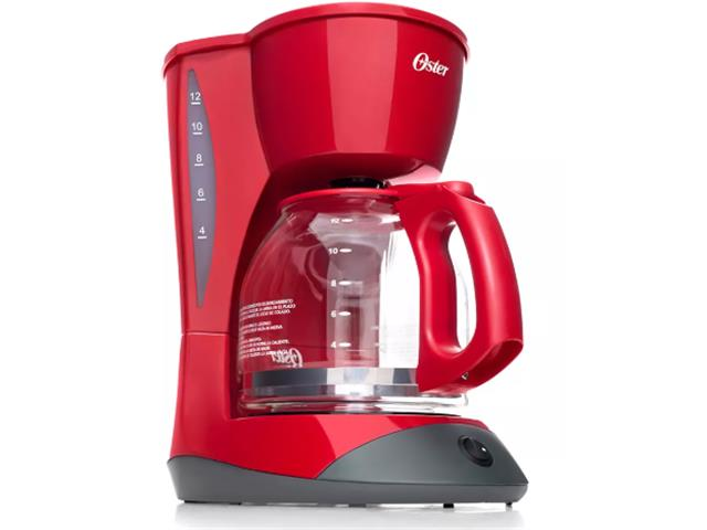 Cafeteira Oster Red Cuisine 1,8L 110V - 1