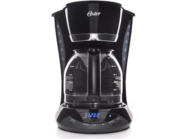 Cafeteira Oster Black Programável 1,8L 110V