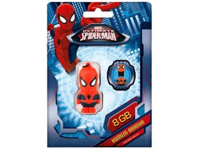 Pendrive Multilaser Marvel Homem Aranha 8GB - 2