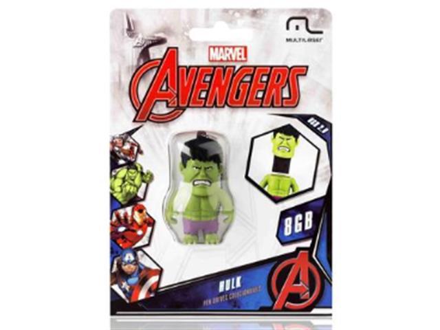 Pendrive Multilaser Marvel Vingadores Hulk 8GB - 2