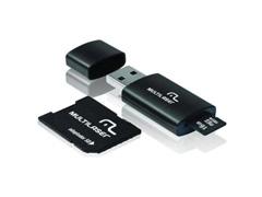 Pendrive Multilaser com Cartão de Memória 16GB