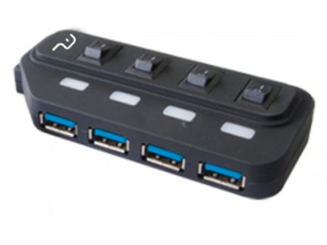 Hub USB Multilaser 3.0 Super SPeed 4 Portas AC264 - 1