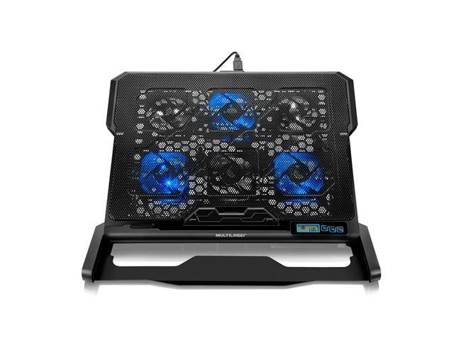Cooler para Notebook Multilaser Com 6 Fans Led Azul Hexa Cooler - 4