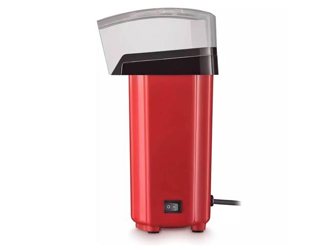 Pipoqueira Elétrica Sem Óleo Multilaser 900w Vermelha 110V - 3