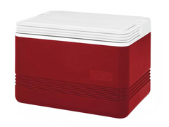 Caixa Térmica Igloo Legend Vermelha 9 Litros 12 Latas