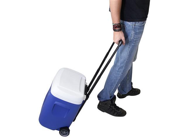 Caixa Térmica Igloo Island Breeze 28QT Roller Azul 26 Litros - 1