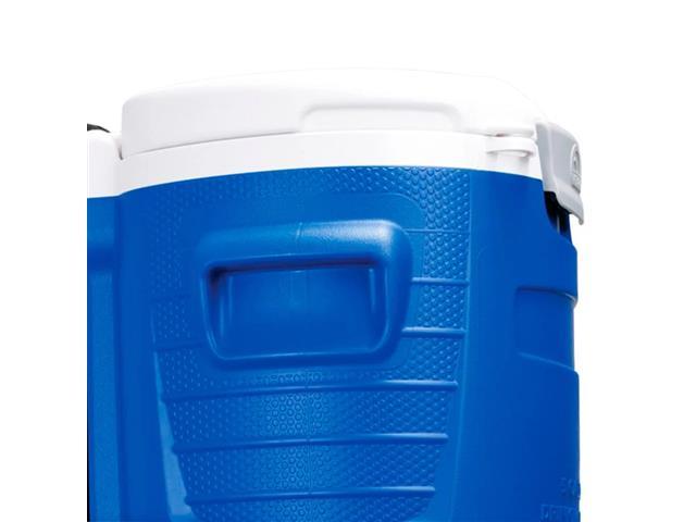 Cooler Térmica Igloo Sport 5 Gallon Roller com Torneira Azul 18,9 Lts - 1