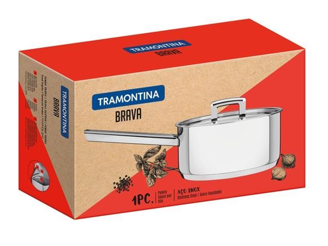 Panela em Aço Inox Tramontina Brava 16cm - 2