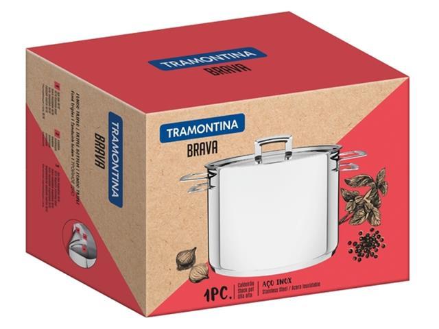 Caldeirão Tramontina Brava em Aço Inox 2,2 Litros - 2
