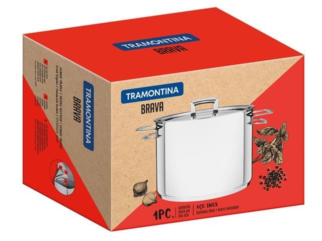 Caldeirão Tramontina Brava em Aço Inox 4,6 Litros - 2