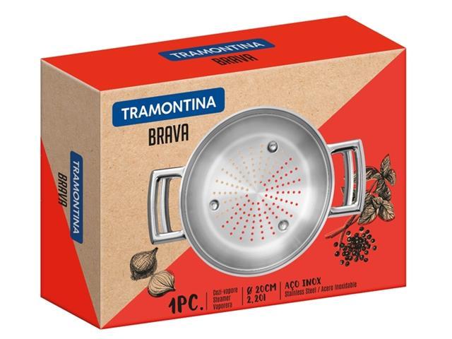 Cozi-Vapore com Alça Tramontina Brava 20cm - 5