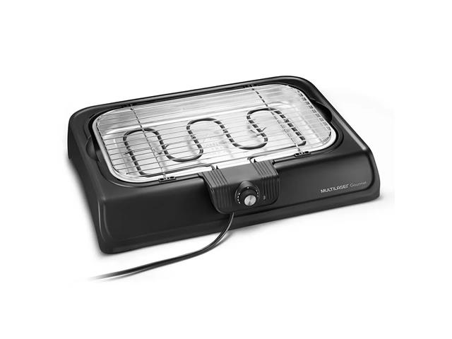 Churrasqueira Elétrica Multilaser Premium CE033 Preta 110V