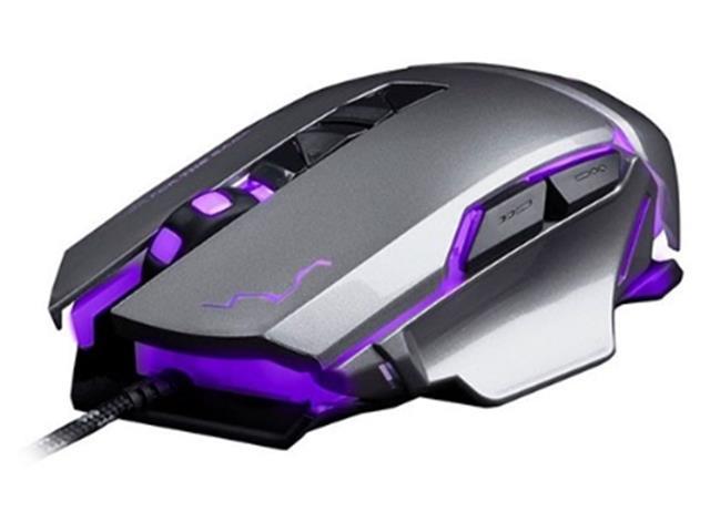 Mouse Gamer Multilaser USB 3200 DPI Warrior Grafite - 2