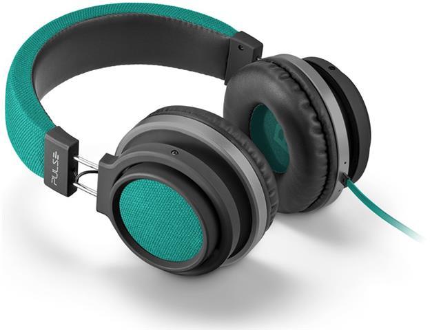 Fone de Ouvido Pulse Multilaser Headphone Large P2 Verde - 3