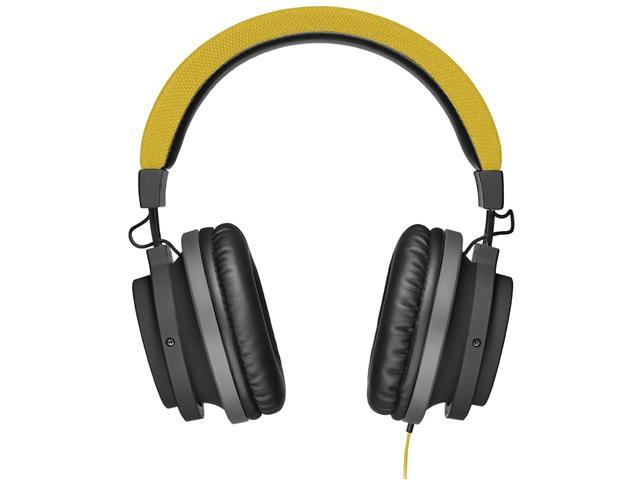 Fone de Ouvido Pulse Multilaser Headphone Large P2 Amarelo - 1