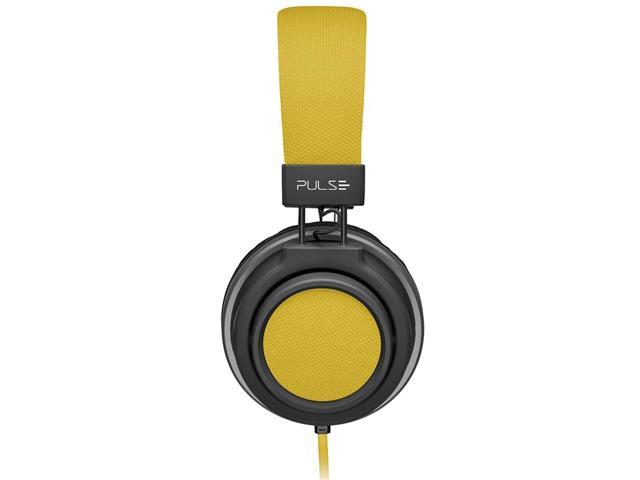 Fone de Ouvido Pulse Multilaser Headphone Large P2 Amarelo - 2
