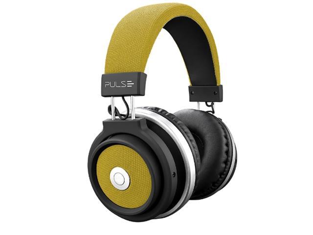Fone de Ouvido Multilaser Pulse Headphone Large Bluetooth Amarelo