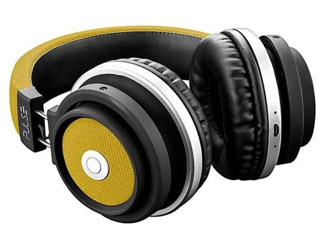 Fone de Ouvido Multilaser Pulse Headphone Large Bluetooth Amarelo - 2