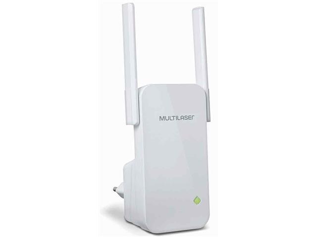 Roteador Repetidor Multilaser 300Mbps com 2 Antenas Externas Branco