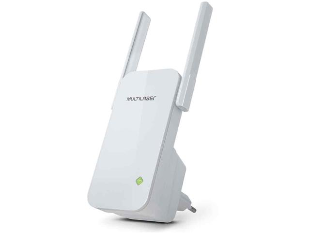 Roteador Repetidor Multilaser 300Mbps com 2 Antenas Externas Branco - 2