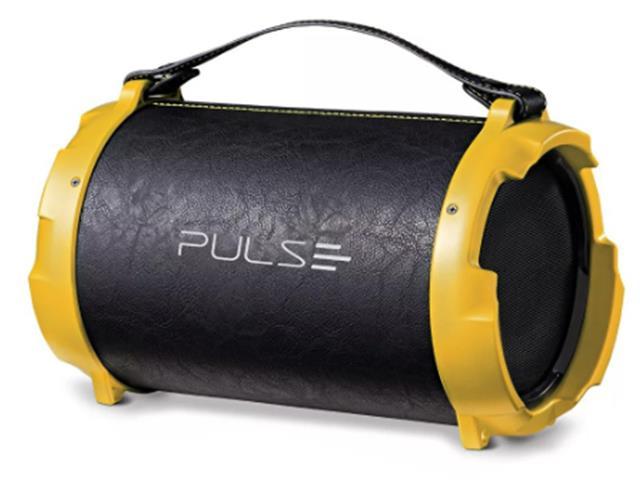 Caixa de Som Multilaser Bazooka Pulse Acabamento Couro 40W