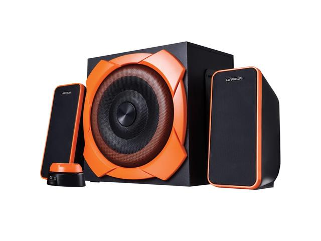 Caixa de Som Multilaser SP266 Gamer Warrior 2.1 RMS 50W - 0