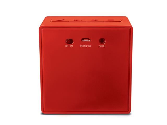 Mini Caixa de Som Bluetooth Multilaser Pulse SP279 8W RMS Vermelho - 3