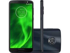 """Smartphone Motorola Moto G6 32GB Tela 5.7"""" 4G Dual Câm 12+5MP Indigo"""