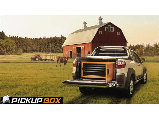 Caixa para Ferramentas Tramontina PRO Pickup Box 84x100x50 cm Laranja - 6