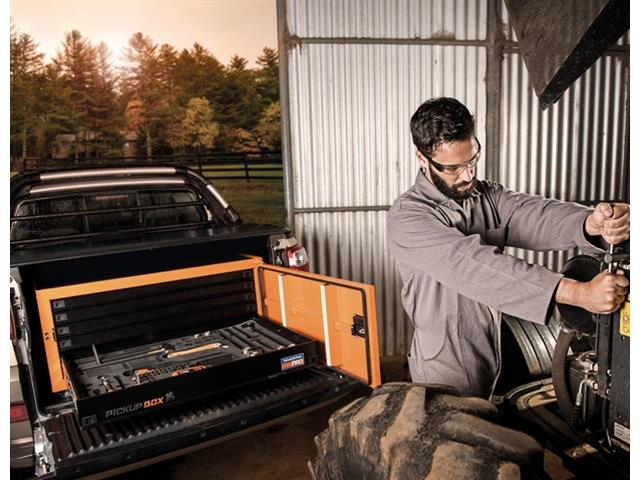 Caixa para Ferramentas Tramontina PRO Pickup Box 84x100x50 cm Laranja - 7