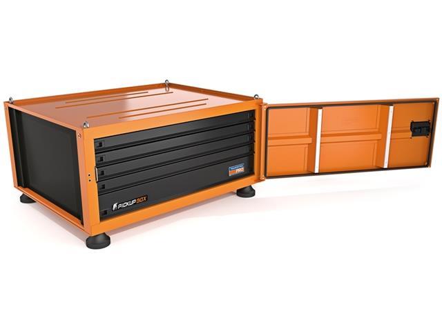 Caixa para Ferramentas Tramontina PRO Pickup Box 84x100x50 cm Laranja - 3