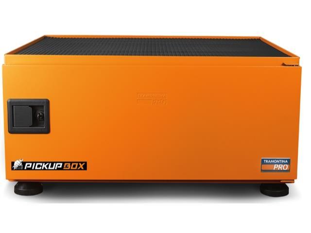 Caixa para Ferramentas Tramontina PRO Pickup Box 84x100x50 cm Laranja