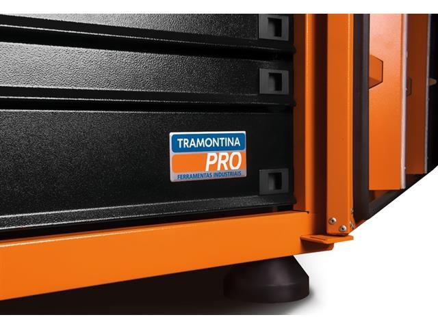 Caixa para Ferramentas Tramontina PRO Pickup Box 84x100x50 cm Laranja - 2