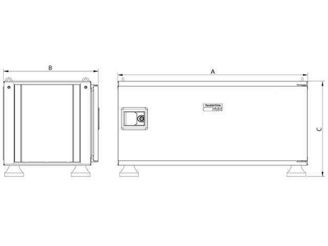 Caixa para Ferramentas Tramontina PRO Pickup Box 500x1000x500 mm Azul - 3