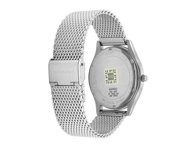 b1b19ab63e5 Relógio Michael Kors Feminino Essential Slim Runway Prata MK8606 1KN - 1 ...