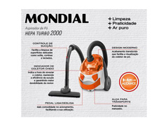 Aspirador de Pó Mondial AP15 1500W 220V - 4