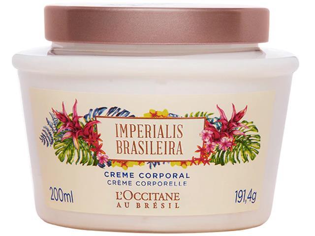 Creme Corporal L'Occitane au Brésil Imperialis Brésileira 200mL