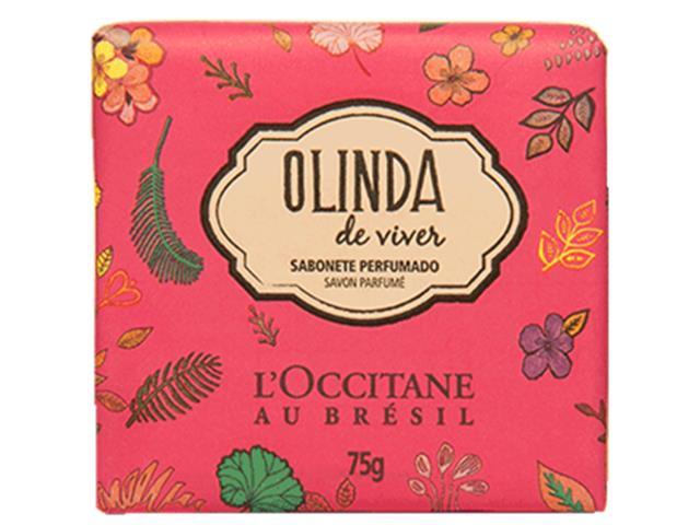 Sabonete Perfumado Loccitane au Brésil Olinda de Viver 75g