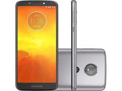 """Smartphone Motorola Moto E5 4G Dual Tela 5.7""""16GB Câmera 13MP Titanium"""
