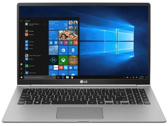 """Notebook LG Gram Intel Core 8ª i7 8GB RAM 256GB SSD FHD 15,6"""" Prata - 1"""
