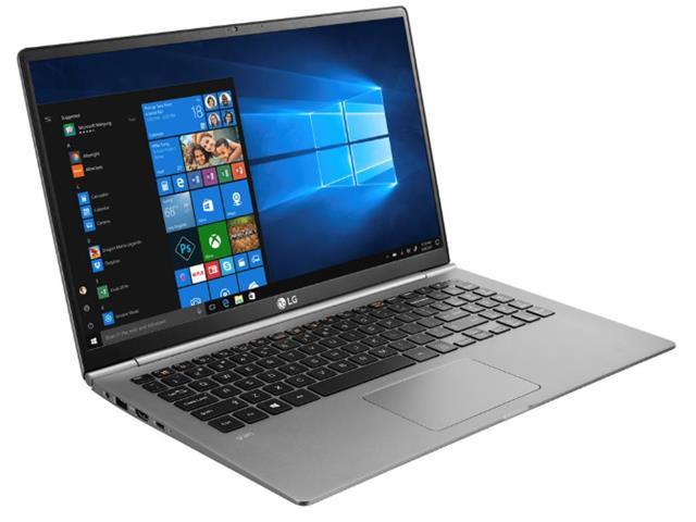 """Notebook LG Gram Intel Core 8ª i7 8GB RAM 256GB SSD FHD 15,6"""" Prata - 3"""