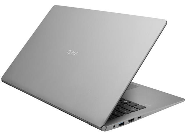 """Notebook LG Gram Intel Core 8ª i7 8GB RAM 256GB SSD FHD 15,6"""" Prata - 4"""