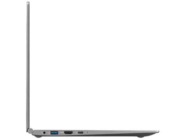 """Notebook LG Gram Intel Core 8ª i7 8GB RAM 256GB SSD FHD 15,6"""" Prata - 6"""