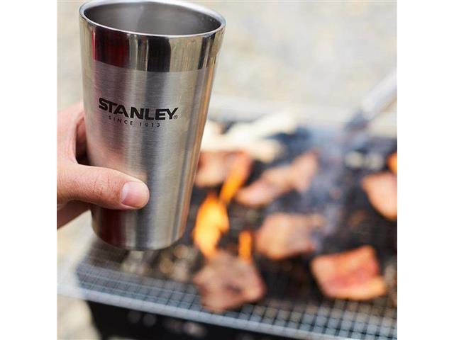 Copo Térmico de Cerveja Stanley sem Tampa Stainless Steel 473mL - 2