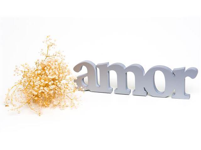 Palavra Decorativa Amor - 1