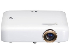 "Projetor CineBeam TV LED 550 Lumens HD até 100"" HDMI Wi-Fi Bluetooh LG"