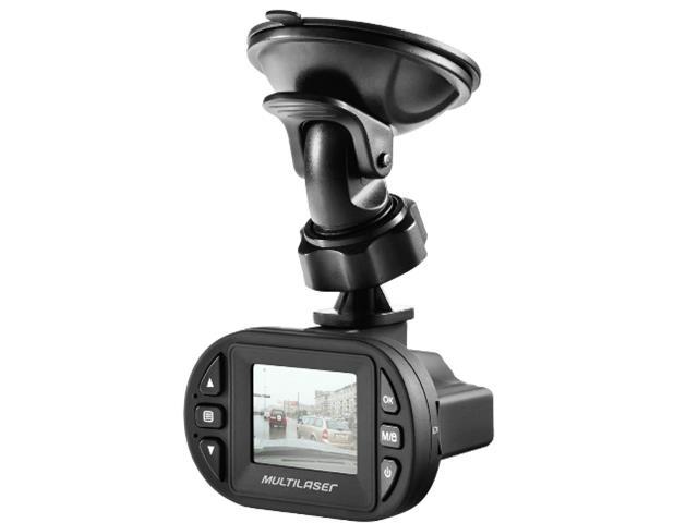 Câmera Automotiva Veicular Filmadora Multilaser Full HD 1080p Preta - 2