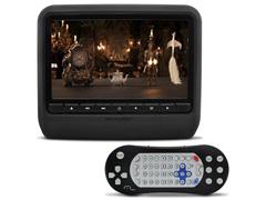 DVD Automotivo Player Multilaser Acoplável Função Game 9 Preto