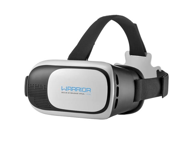 Óculos de Realidade Virtual Multilaser Warrior VR Glasses 3D