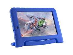 Tablet Multilaser Disney Vingadores Plus 8GB Android 7 Dual Azul